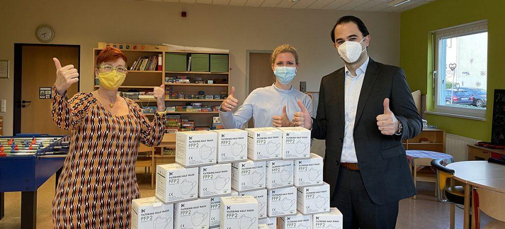 ALTON spendet FFP2 Masken an wohltätige Organisationen